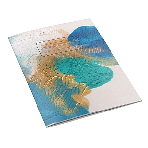 Blue Blot Notebook