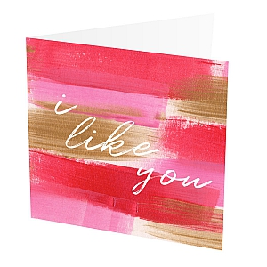 view I Like You Card details
