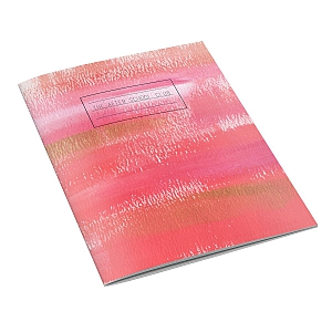 Pink Brushstroke Notebook