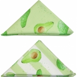 Avocado stripe napkin