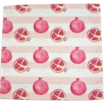 Pomegranate stripe napkin