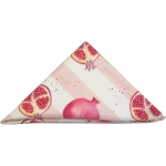 view Pomegranate stripe napkin details