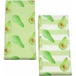 Avocado Stripe Tea Towel