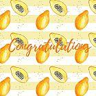 Congratulations Card Papaya